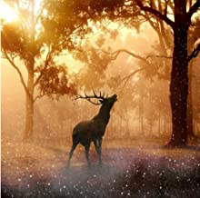 Jigsaw Puzzle for Adults 1000 Piece, Woods Moose,DIY Abstract Modern Art Living Room Home Decors Wood Toys Fun Games Great Educational Gift for Kids
