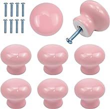8 stuks deurknoppen voor kinderen, 35 mm ronde kastknoppen, keramische kastgrepen en knoppen, meubelgrepen met schroeven v...