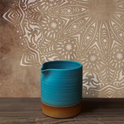All Stencil Home Decor Rosette 011 Mandala, Maße: Schablone 50 x 50 cm, Design: 48 x 48 cm.