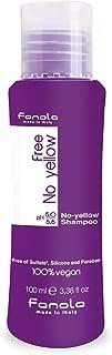 Fanola No Yellow Vegan Shampoo Travel Size, 100 ml