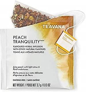 Starbucks Teavana Tea Sachets (Peach Tranquility, Pack of 6 Sachets)