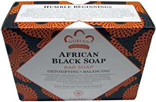Nubian African Black Soap 5 Ounce (pack of 6)