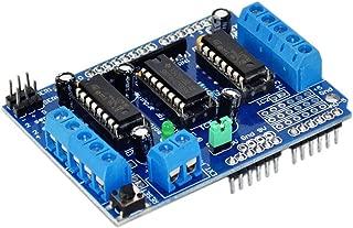 HiLetgo L293D DC Motor Drive Shield Stepper Motor Drive Shield Expansion Board for Arduino Duemilanove Raspberry Pi