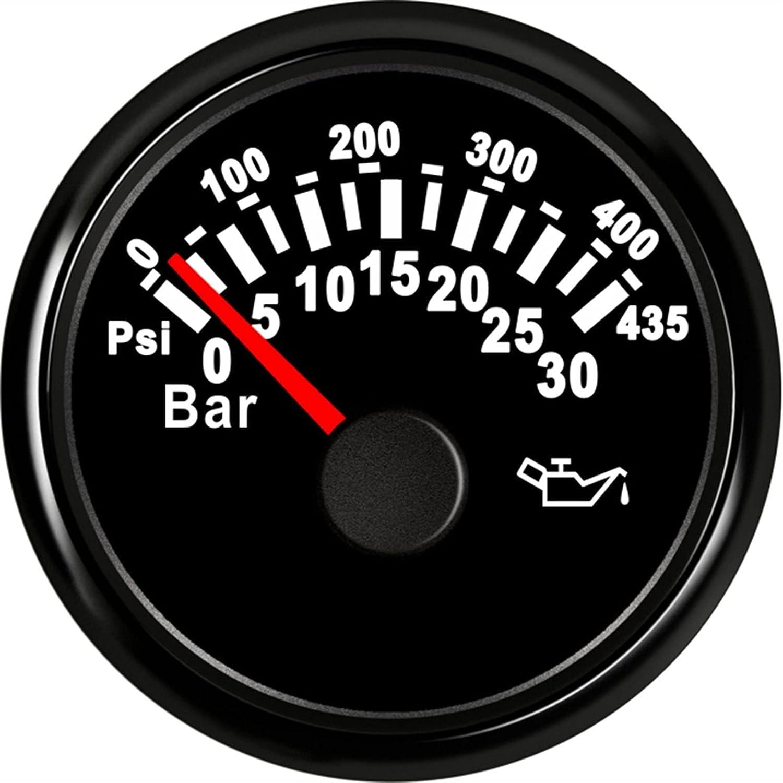 Waterproof Oil Limited Special Price Pressure 52mm Gauge Max 73% OFF
