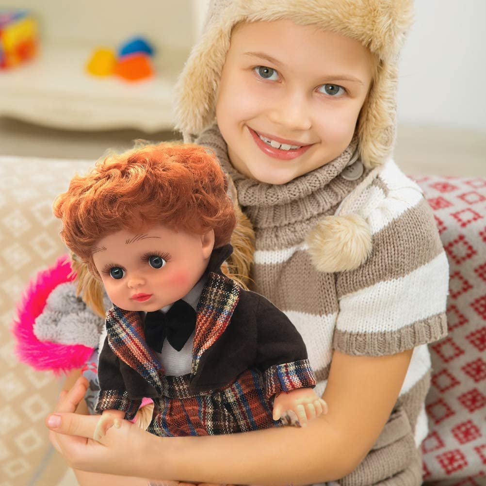 KUNLIHUANG Baby Girl Toys Toddler Realistic 13 inch Baby Dolls for Girls Toy Gifts for Girls