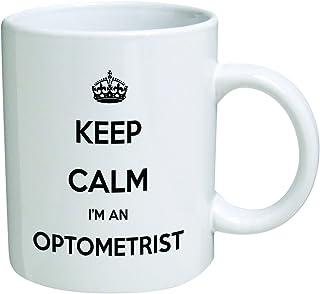 Funny Mug - Keep Calm I`m and Optometrist - 11 OZ Coffee Mugs - Inspirational gifts and optical, doctor - By A Mug To Keep TM