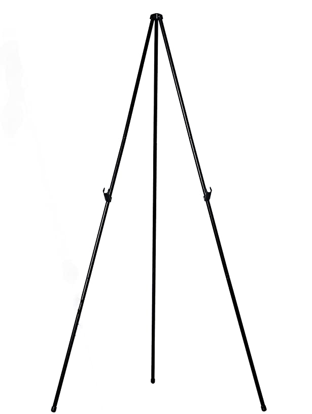 MasterVision Instant Display Easel Lightweight, Extends to 61.5