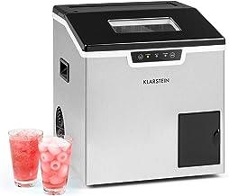 KLARSTEIN Icefestival Bullet - Machine à glaçons 400W, 12-20kg / 24h glaçons, bac à glaçons 1,9kg, réservoir d'eau: 3L, gl...
