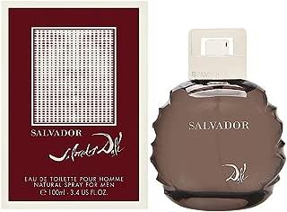 Salvador Dali Salvador for Men Eau De Toilette Spray, 3.4 Ounce