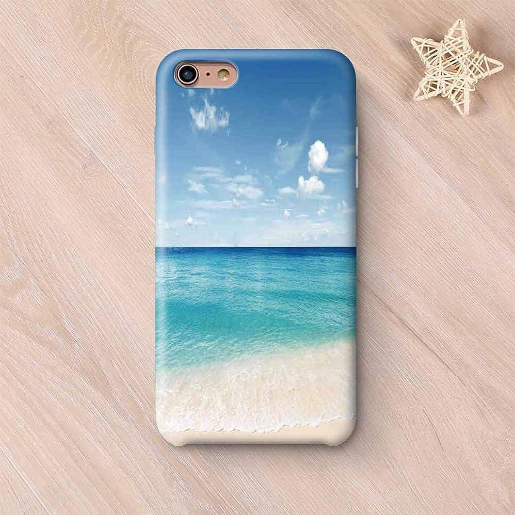 Ocean Decor Custom Compatible with iPhone Case,Tropical Carribean Sea Shore Sand Beach Blue Calm Peaceful Sea Decorative Compatible with iPhone 6/6s,iPhone 6 Plus / 6s Plus