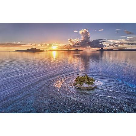 1000ピース ジグソーパズル KAGAYA 小さな楽園(JEEP島の夕日) (50x75cm)