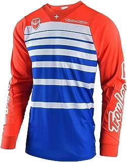 Troy Lee Designs Men's Offroad Motocross Streamline SE Jersey (Large, Blue/Orange)