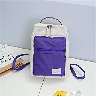 Leng QL Personality Backpacks Fashion Schoolbag Knapsack Traveling Rucksack Casual Canvas Backpack(Small Size)