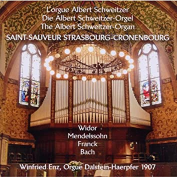 L'orgue Albert Schweitzer, Saint-Sauveur Strasbourg-Cronenbourg