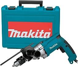 Makita HP2050 Taladro Percutor 720W 2.5 Kg 1200-2900 Rpm Portabrocas Con Llave, 720 W, 24 V, Azul, 1.3 cm