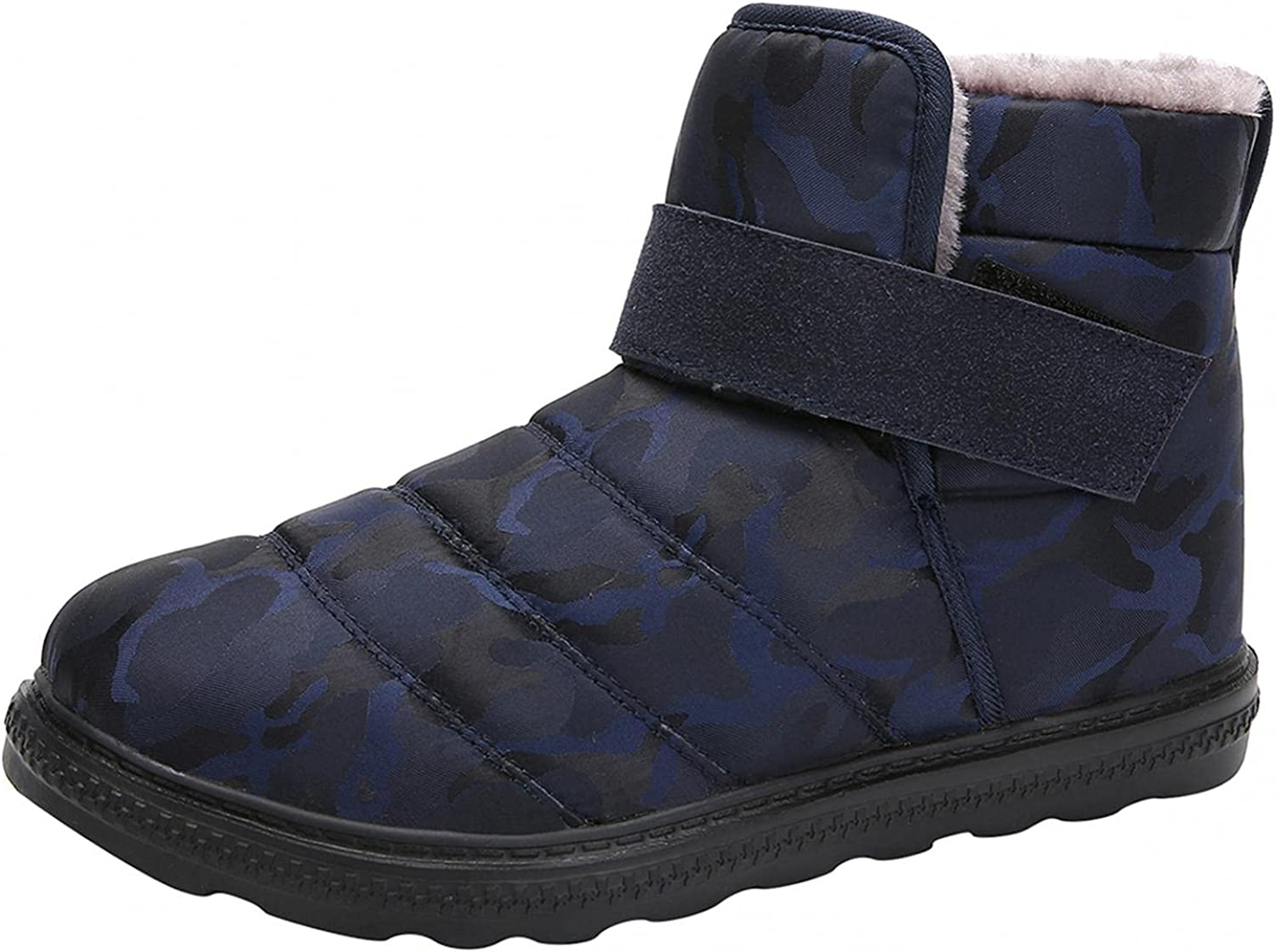 Snow Boots for Women, Kcocoo Warm Ankle Booties Waterproof Comfo