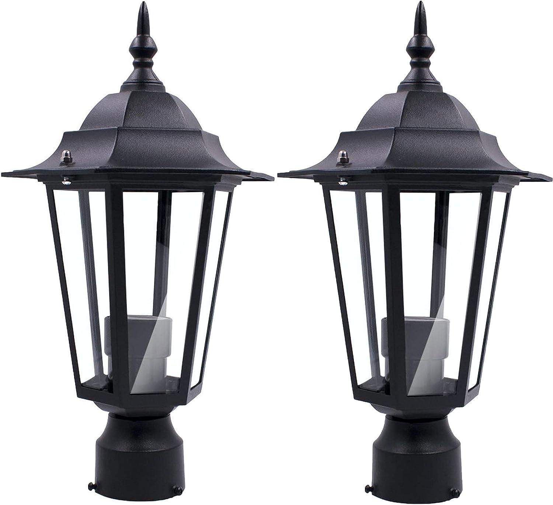 Outdoor Post gift Light Fixture Pole Cheap mail order sales One-Light Ga