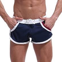 LISTHA Men's Summer Short Pants Home Leisure Thin Sports Arrow Shorts Trousers