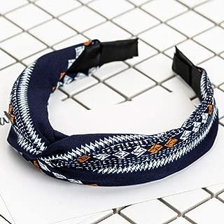 MOPOLIS Women Alice Band Hair Hoop Headband Twist Hairband Bow Knot Cross Headwrap SH | StyleID - #110