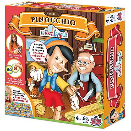Grandi Giochi GG90201, Giocafavole Pinocchio, Multicolore