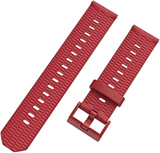 Replacement Strap for HUAMI AMAZFIT Youth,Tonsee Universal Honeycomb Ventilate Watch Band,Lightweight and Soft Silicone Waych Strap