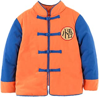 Young Kids Baby Boys Traditional Chinese Inspired Warm Fleece Jacket Coat