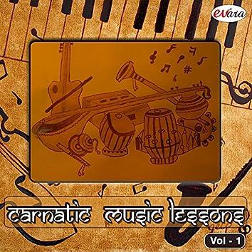 Carnatic Music Lessons, Vol. 1