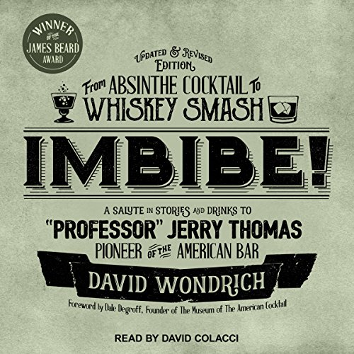 Imbibe! Updated and Revised Edition audiobook cover art