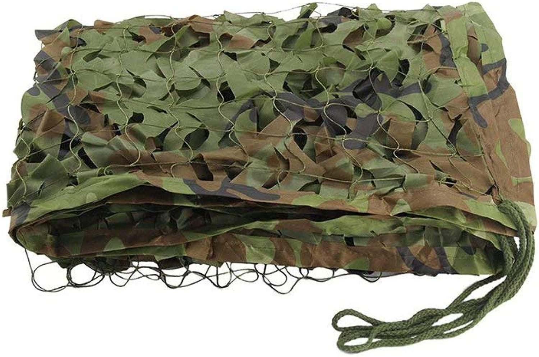 遮光ネット迷彩ネット 3メートル、4メートル、5メートル、6メートル、10メートルのために使用することができますカモフラージュ狩猟シューティングネット/屋外軍事カモフラージュネット 屋外の日陰の庭に適しています (Color : D, Size : 10*20m)