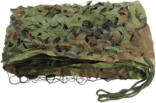 XJLG-Filet d'ombrage Filet de Camouflage Camouflage, Filet de Camouflage Jungle, Filet de Camouflage Parasol, Filet de décoration Vert Montagne Filet d'ombrage