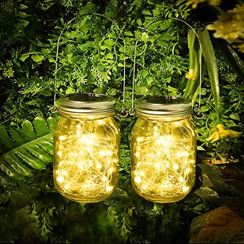 [2 Stück]Solarlampen für Garten, 30 LEDs …