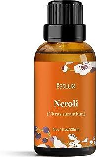 Neroli Essential Oil, Esslux Aromatherapy Essential Oils for Diffuser, Massage, Soap, Candle Making, Perfum...