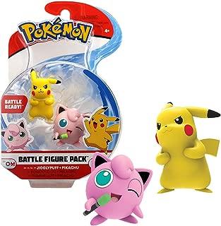 Bandai - Pokémon - Pack de 2 figurines 3-5 cm - Pikachu & Rondoudou - WT95021