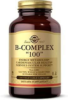 """Solgar B-Complex """"100"""" Vegetable Capsules 100's"""