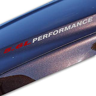 Bubbles Designs 2X 5.6L Gray Performance Decal Sticker Compatible with Nissan Titan or Similar 7