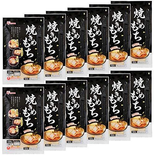 アイリスオーヤマ 焼き目餅 1袋15個入り×12袋