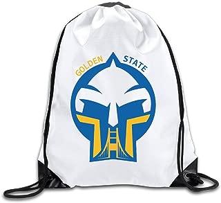 Golden State Logo Drawstring Backpack Bag Gym Sack