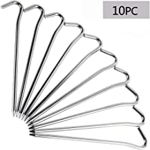 RIY Camping Tent Stakes Aluminum Heavy Duty Camping Garden Canopy Stakes Pegs