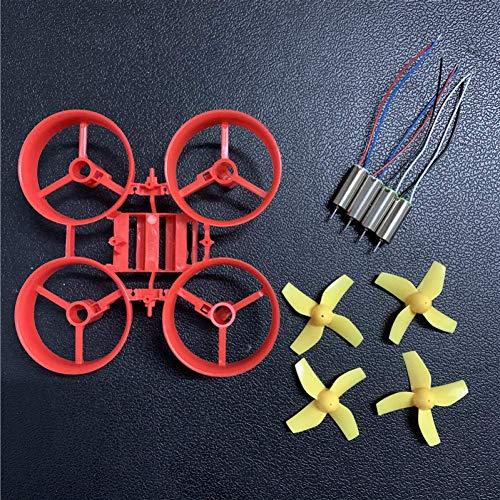 YNSHOU Funcional / para DIY Tiny Whoop RC Drone Jjrc H36 E010 Kit de Marco 615 Repuestos de hélice de Motor Cepillado ( Color : Type 13 )