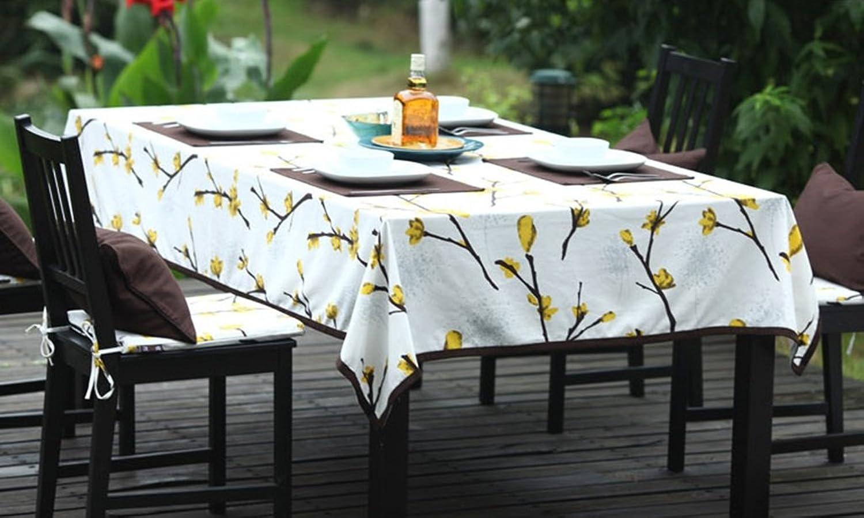 MEI LI JIA YUAN Tischdecke, Modern Simple Style Active Printing Couchtisch Speisen HitzeBesteändiges Tischtuch Rechteck (größe   140x240cm) B078T7FK2N Authentische Garantie     Auktion