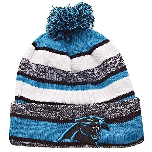 New Era On field Sport Knit Carolina Panthers Game Hat Blue/Black/White Size One Size