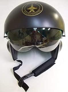 Forum Men's Novelty Deluxe Jet Pilot Helmet