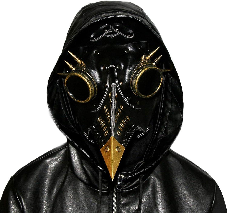 Yammucha Vintage Rivet Long Nose Vogel Maske Schnabel mittelalterlichen Steampunk Halloween Party Maskerade Kostüm Requisiten 3 Farben erhältlich B07M5FFPQ3 Spaß für Kinder  | Hervorragende Eigenschaften