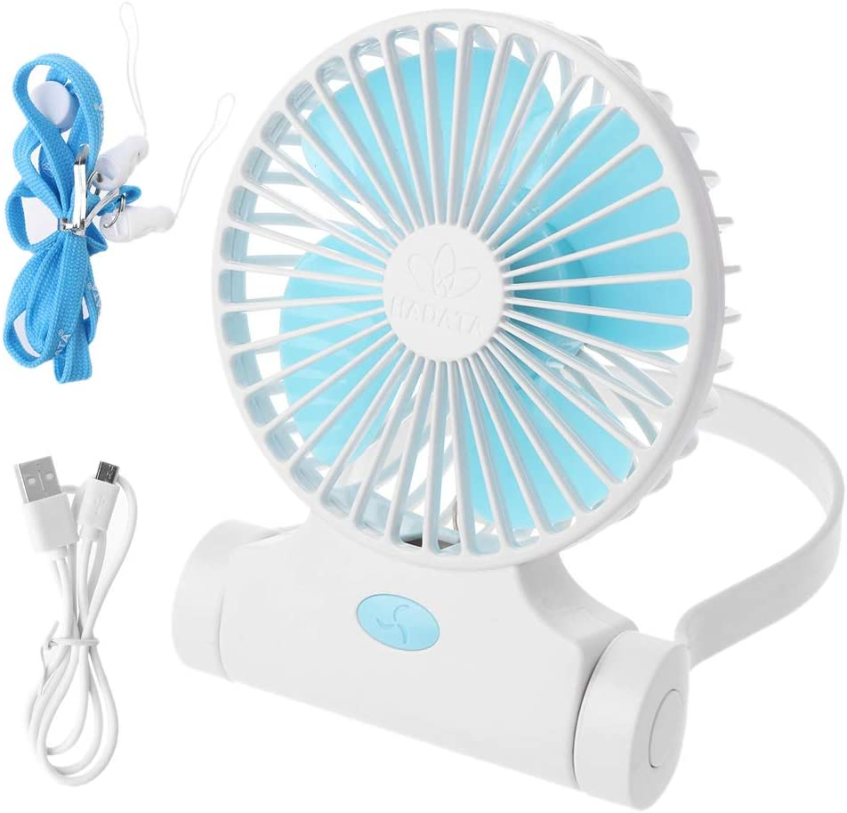 Milue 360 Degree Rotating Popularity Portable Selling rankings U Hands-free Hanging Fan Neck