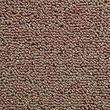 MonsterShop Teppichfliesen Bodenfliesen Teppich 50 x 50 cm Gesamtfläche 5 m² (Sandfarbend) 20 Stück