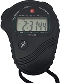 Rolilink Stopwatch Digital Stop Watch Timer for Coaches Sports Timer with 0.01 Second Precision