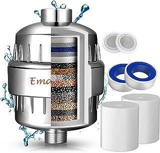 Filtro de Ducha Agua Universal de 17 Etapas - Incluye 2 Cartuchos de Filtro Reemplazable- Purificador de Agua para Elimina...