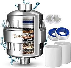 Filtro de Ducha Agua Universal de 15 Etapas - Incluye 2 Cartuchos de Filtro Reemplazable- Purificador de Agua para Elimina...