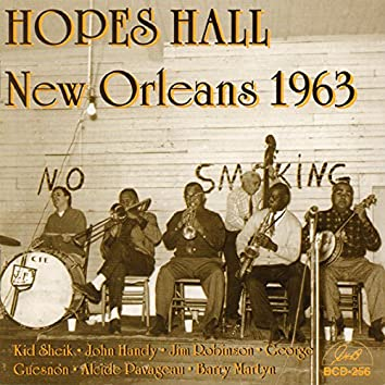 Hopes Hall, New Orleans, 1963