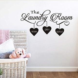 BUCKOO Laundry Room Decor,Laundry Room Quote Wall Sticker Home Decor Popular Vinyl..